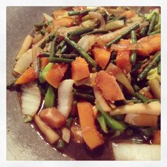Typical Meals I Cook: Mixed Veges