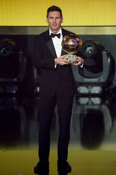 FIFA Ballon d'Or winner Lionel Messi of Argentina and FC Barcelona looks on during the FIFA Ballon d'Or Gala 2015 at the Kongresshaus on January 11, 2016 in Zurich, Switzerland.