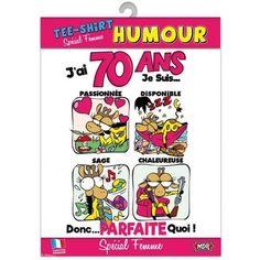 Funny 70th Carte d/'anniversaire pour Hommes /& Femmes 70 aujourd/'hui vache sacrée qui est vieux!
