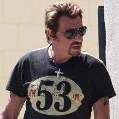 Johnny Hallyday Warson motors Tshirt