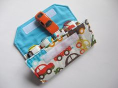 The ORIGINAL Car Wallet with Pocket holds 4 ... by MyHappyHobbies