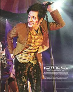 Panic! At The Disco. Another Brendon Urie picture.