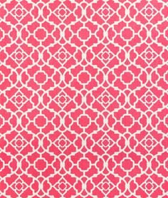 Waverly Lovely Lattice Blossom, matches my Amy Butler duvet and would make a nice bed skirt