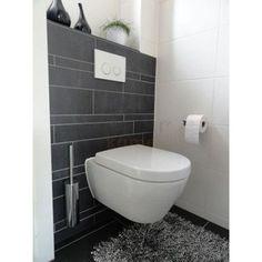 Interieur on pinterest met vans and toilets - Deco toilet grijs ...
