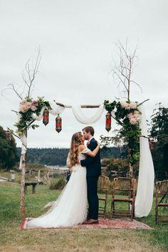 Un mariage simple et champªtre