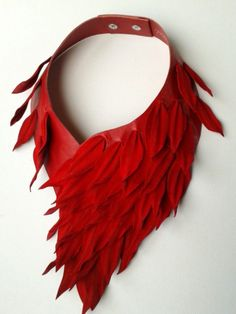 Fringe Fatale — coming soon Textile Jewelry, Fabric Jewelry, Diy Jewelry, Jewelry Gifts, Jewelery, Jewelry Design, Jewelry Making, Fabric Necklace, Diy Necklace