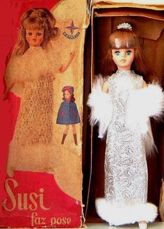 Susi Faz Pose - brazilian doll - made Estrela