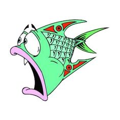 Royalty-Free a red green and pink liped fish Clipart Image . Fish Drawings, Cartoon Drawings, Animal Drawings, Cartoon Sea Animals, Cartoon Fish, Bow Fishing, Fishing Games, Fishing Chair, Fishing Hole