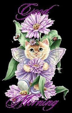 Stunning image - - from the clip art category animated Good Morning gifs & images! Morning Cat, Good Morning Sunshine, Good Morning Picture, Good Morning Greetings, Good Morning Good Night, Morning Pictures, Morning Wish, Good Morning Images, Good Morning Quotes