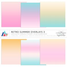 Retro Summer Overlays 3 ·CU· {EXCLUSIVE}