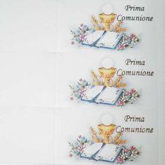 Biglietti per la prima comunione fai da te da stampare e colorare - Piccoli biglietti per la Prima Comunione