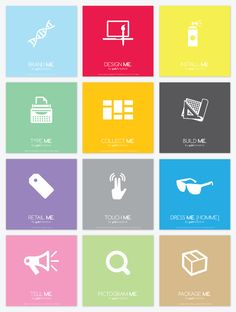 Cutting The Clutter On Pinterest by Garrett Knoll, via Behance