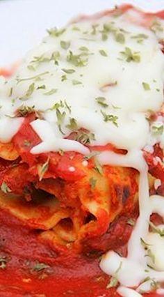 Spinach and Prosciutto Lasagna Rolls