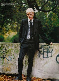 i-D #206 PS 2001 - Forever I Am a Part of You and Me by Willy Vanderperre Models: Robbie Snelders
