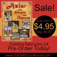 """Asia:  Its People and History"" is on sale this week only for a pre-launch price of only $4.95.  Grab this deal while you can, and check out the amazing book launch giveaway/author interview!"