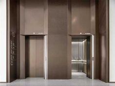 杨邦胜设计集团_西安丝路国际会议中心 Lobby Interior, Interior Stairs, Interior Lighting, Interior Architecture, Elevator Lobby Design, Lift Design, Office Lobby, Silk Road, Hall Design