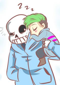 chioriangel:  I think this is the first time I've ever done fanart of a youtuber!~Jacksepticeye is absolutely the best out there and his videos always cheer me up!~ I am enjoying his let's play of Undertale so much that I had to make fanart of it.I'm not feeling so well at the moment and it always cheers me up when a new episode is there. (and Sans is my favorite!~)I hope you like it!  Aw sleepy widdle jack!