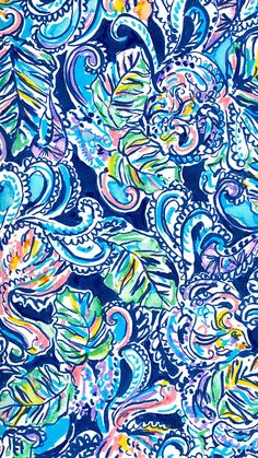 Lilly Pulitzer - Hanging With Fronds