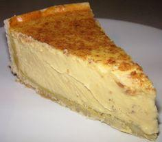 The Caked Crusader: Vanilla custard tart Custard Recipes, Tart Recipes, Best Dessert Recipes, Sweets Recipes, Baking Recipes, Delicious Desserts, Pudding Recipes, Custard Tart, Vanilla Custard