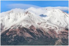 GELATO GLOBAL PRINT - Landscape Aluminum Print - Beautiful view of Mt Shasta SUMMIT in Northern California, USA California Usa, Northern California, El Yunque Rainforest, Mount Shasta, Active Volcano, Metallic Prints, Us National Parks, Gelato, This Or That Questions