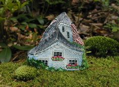 Painted Stone Houses by Klaudia Konrad