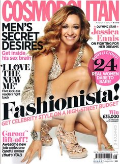 Cosmopolitan Cover August Issue 2012