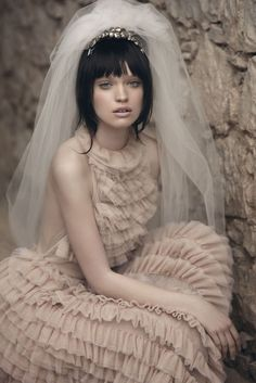 Love the style of Vanity Fairs' Sicilian Wedding shoot by Signe Vilstrup