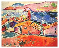Henri Matisse, The Roofs of Collioure (oil on canvas, 1905)