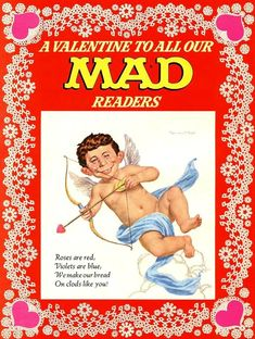 Basil Wolverton, Mad Magazine, Magazine Covers, Pulp Art, Funny Clips, Pulp Fiction, Dumb And Dumber, Nerd, Humor