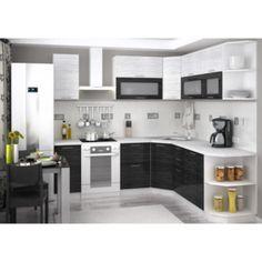 Kuchyňa VALERIA BLACK STRIPE na mieru