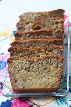 The Best Banana Bread (ever.) J's review: 8.5 / 10 I don't know about 'ever', but this was definitely the moistest banana bread recipe I've made, and the flavour was really nice. My bananas weren't terribly ripe though, so I'm hoping that the next time I make it (with super ripe ones) it will hit 9 or 9.5 out of 10! I used sour cream instead of yogurt & sprinkled some cinnamon & brown sugar on top for a sweet crunch.  This recipe is a keeper, for sure.