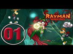 Rayman Origins PC detonado - 01 Jibberish Jungle