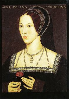 Anne Boleyn, ( born c. 1501) was the second wife of King Henry VIII—a scandalous marriage, given that he had been denied an annulment from his first wife by the Roman Church, and that his mistress was Anne's sister, Mary. Thusly, King Henry VIII broke from the Church to marry Anne. She gave birth to a daughter, Elizabeth, but could not sire a son. On May 19, 1536, Anne Boleyn was executed on false charges of incest, witchcraft, adultery and conspiracy against the king.