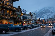 Leavenworth, WA one of my bucket lust Washington destinations. Actually want to get married there! Seattle Washington, Washington State, Leavenworth Washington Christmas, Little Germany, Coeur D'alene Idaho, On The Road Again, I Want To Travel, Christmas Vacation, Weekend Getaways