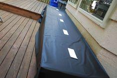 Nice table cover idea!