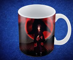 Mug 11Oz Personalizado Itachi Itachi, Mugs, Tableware, Dinnerware, Mug, Dishes, Cups, Porcelain Ceramics