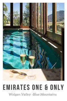 Australia - Blue Mountains Emirates One & Only Wolgan Valley Pool