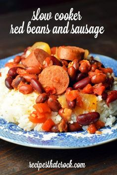Does someone in you family just love red beans and rice? This Slow Cooker Red Beans and Sausage is a great recipe to serve over rice. Click this button to  to Pinterest! Cris here. My hubby LOVES red beans and rice. Says he'd eat it everyday if I'd let him! MY LATEST RECIPES So when I...Read More »