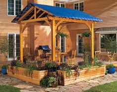 Shade structure - from The Family Handyman!