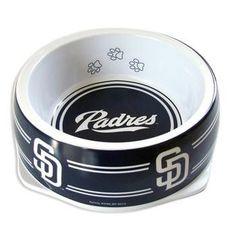 San Diego Padres Plastic Dog Bowl