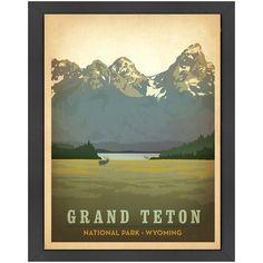 Grand Teton Wall Art