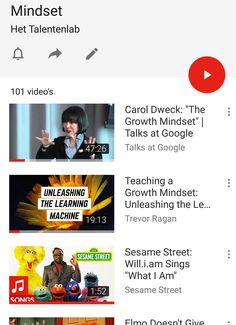 Ken je onze Afspeellijst Mindset op YouTube al? Met meer dan 100 video's over #growthmindset #groeimindset! http://www.youtube.com/playlist?list=PLaiVIk3uh_DdvWY-ehpn5-RQ7-MqfgeGi
