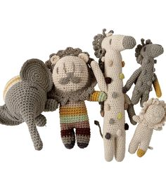 Our crochet baby animal toy will bring delight to little ones. This wild giraffe has a crochet design and rattles when shaken. Designed exclusively for us by Miga de Pan.