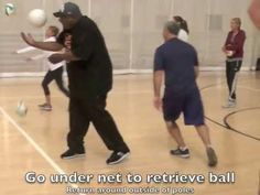 Volleyball Bump, Set, and Spike Drill