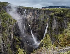 Vøringsfossen by Sigurd Rage on 500px