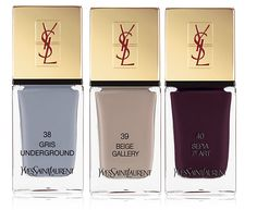 Yves Saint Laurent Makeup Collection for Fall 2013 nail polish