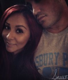 Nicole Snooki Polizzi Jionni LaValle Relaxing