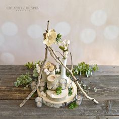You can have this centerpiece at YOUR wedding! This site sells pre-made centerpiece packages to make decorating super easy. Winter Wedding Receptions, Wedding Reception Flowers, Winter Wedding Decorations, Chapel Wedding, Reception Decorations, Simple Centerpieces, Rustic Wedding Centerpieces, Flower Centerpieces, Flowers To Go