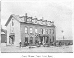 Ocean House Hotel, Goderich, Ontario c.1897 #Goderich #RediscoverGoderich #VintageGoderich