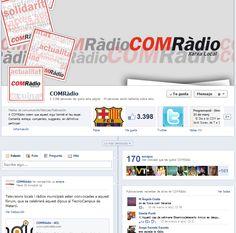 Noves pàgines de COMRàdio a Facebook